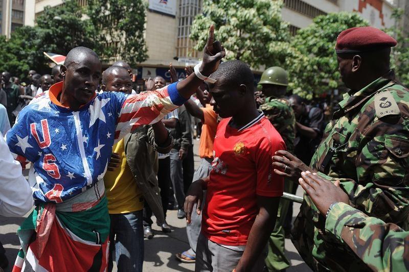 Vakarų Kenijoje per riaušes žuvo du žmonės