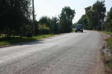 8 milijonai litų - rajono keliams