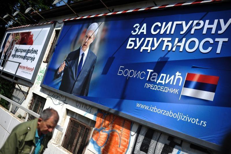 Serbijoje prasidėjo balsavimas prezidento rinkimuose