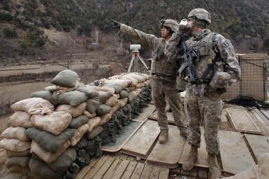 Afganistane sprogus bombai žuvo keturi JAV kariai
