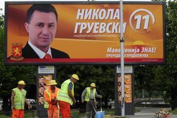 Makedonijoje - parlamento rinkimai