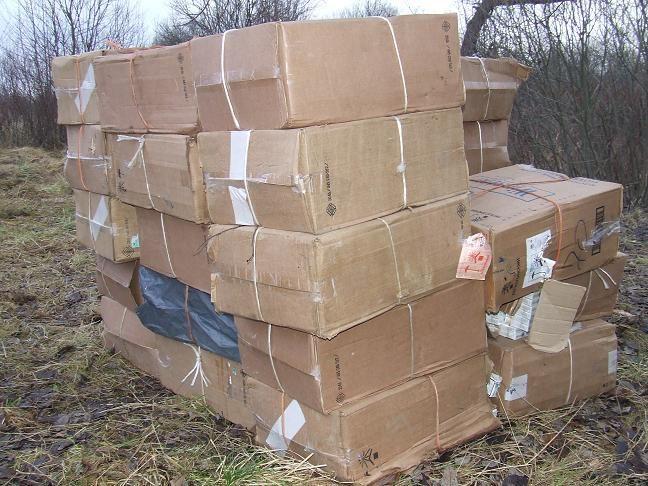 Kontrabandininkai likimo valiai paliko 120 tūkst. litų vertės krovinį