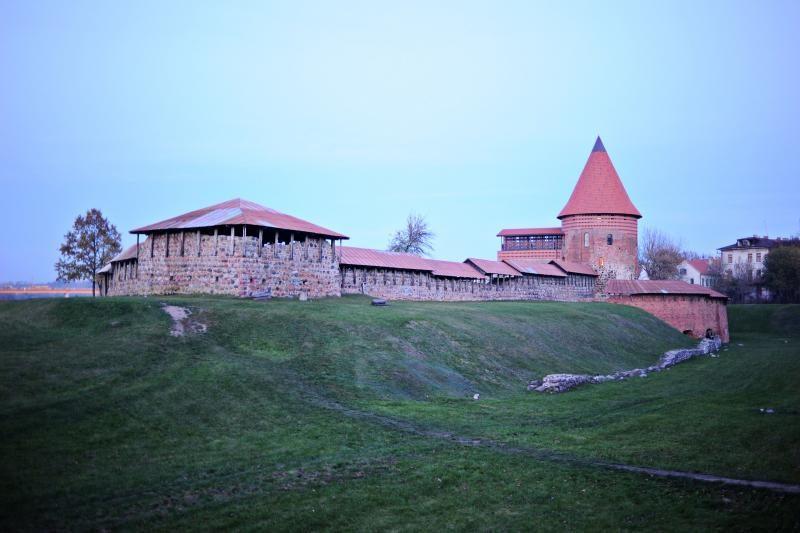 Kauno pilį apgaubę dūmai išgąsdino praeivius