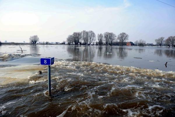 Pamaryje laukiama didesnio nei pernai potvynio
