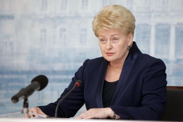 D.Grybauskaitė vyks į Varėną