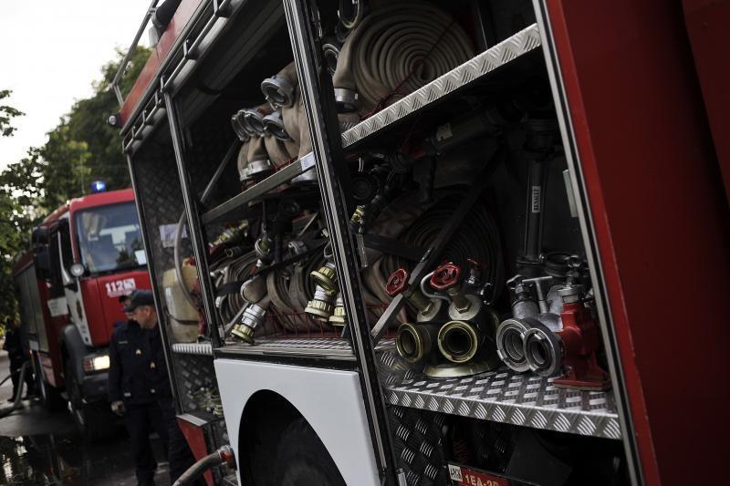 Vilniaus rajone sudegė du         žmonės