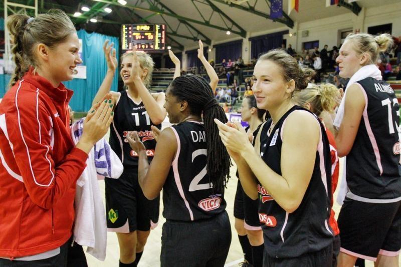 Vilniaus krepšininkės tikisi pratęsti pergalių seriją Europos turnyre