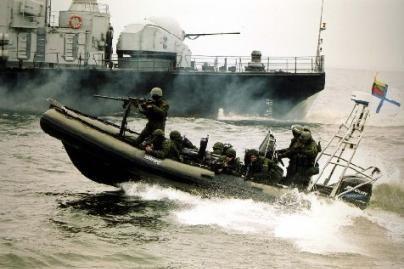Baltijos jūroje vyks Lietuvos ir Latvijos laivų pratybos