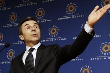 B. Ivanišvili paskelbė planuojamą ministrų kabineto sudėtį