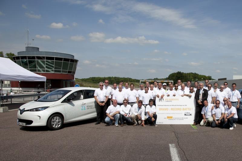 """""""Renault ZOE"""" pasiekė naują pasaulio rekordą"""
