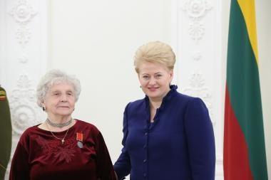 Tarp Prezidentės apdovanotų motinų – ir klaipėdietė