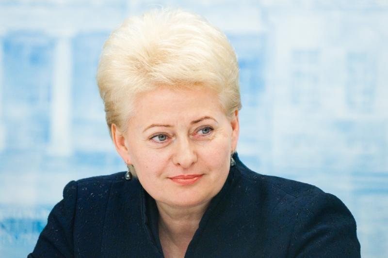 D.Grybauskaitė: partijos turi atsiriboti nuo lobistinių interesų