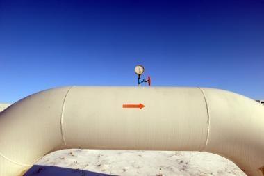 Rusija paliko Ukrainą be dujų