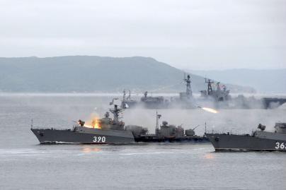 Rusija pertvarkys Juodosios jūros laivyną ir Kaspijos flotilę