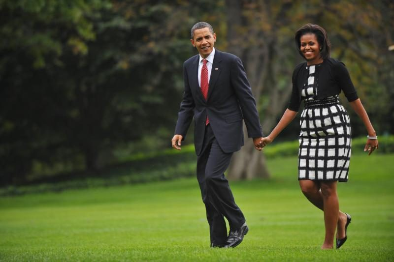 D. Trumpas viešai pareiškė, kad B. Obama seniai išsiskyrė su žmona