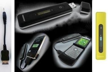 Įkrauk mobilųjį telefoną USB atmintine