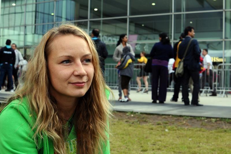 V.Rimšaitė: olimpinės žaidynės - mano siekiamybė