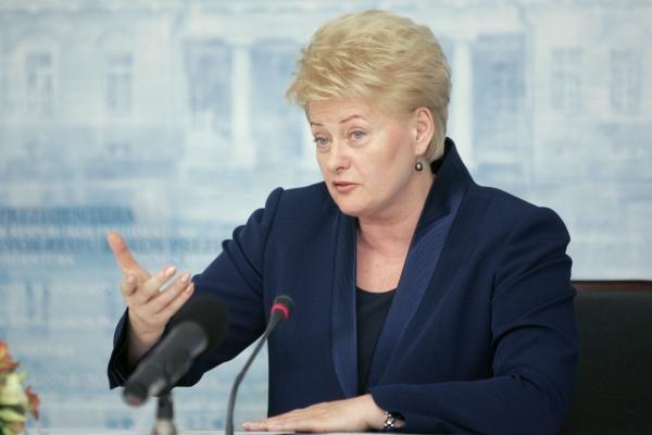 D.Grybauskaitė: mano žmonės užsidirba savo algą