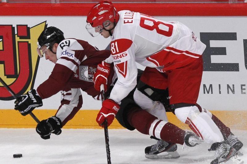 Latviai nebepateks į ledo ritulio čempionato ketvirtfinalį