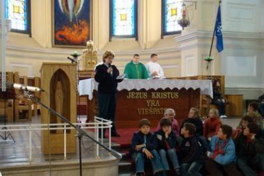 Policija apie sukčius perspėja ir bažnyčiose