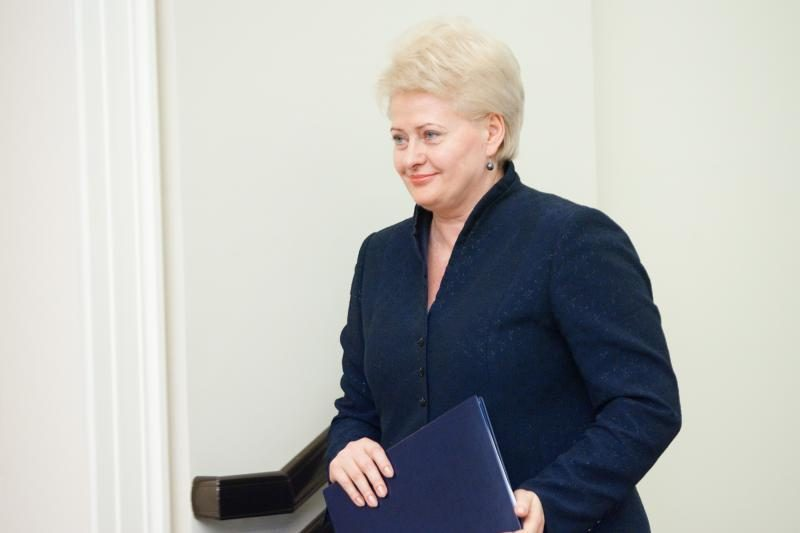 D.Grybauskaitė: rimtos grėsmės koalicijai nėra