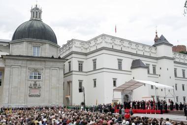 Valdovų rūmams baigti reikės dar apie 200 mln. litų?
