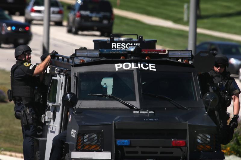 JAV pareigūnai nušovė Alabamoje vaiką pagrobusį užpuoliką