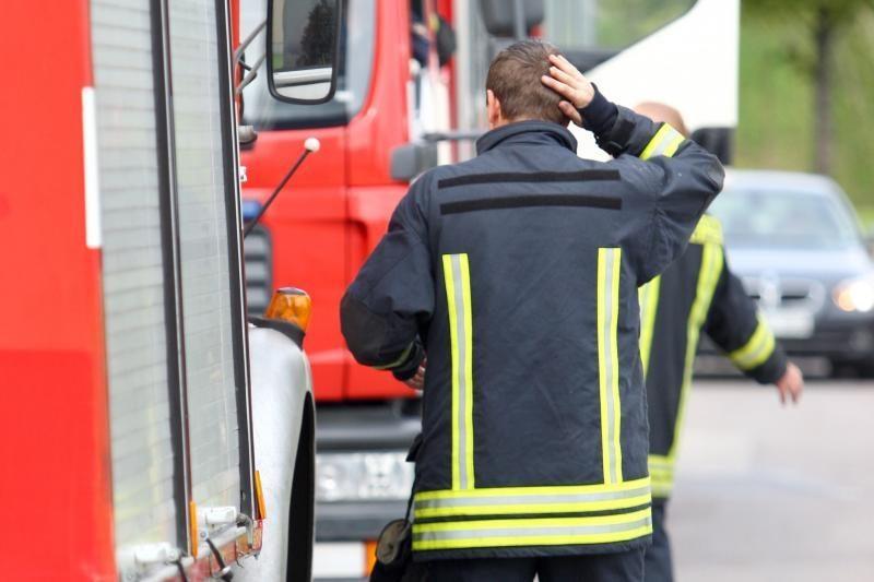 Ugniagesiai: Biržų rajone rasta medžiaga buvo visai nepavojinga