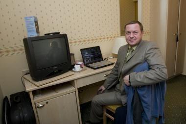 """Parlamentaras E.Jurkevičius dėl """"Dviračio šou"""" kreipėsi į teismą"""