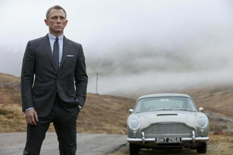 Pirmojo filmo apie Džeimsą Bondą 50-mečio proga - specialūs kvepalai