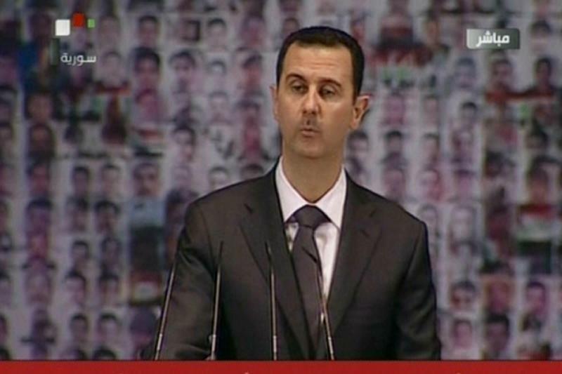 Al Assadas viešai pasirodė Sirijos sostinėje