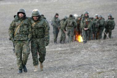 Pentagonas: Gruzijos kariuomenė yra tragiškos būklės