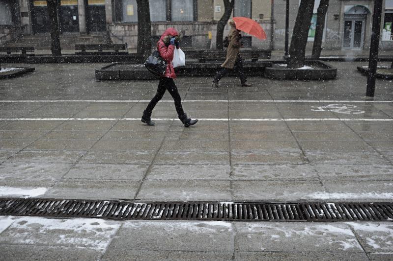Artimiausiomis dienomis Lietuvoje numatoma šlapdriba