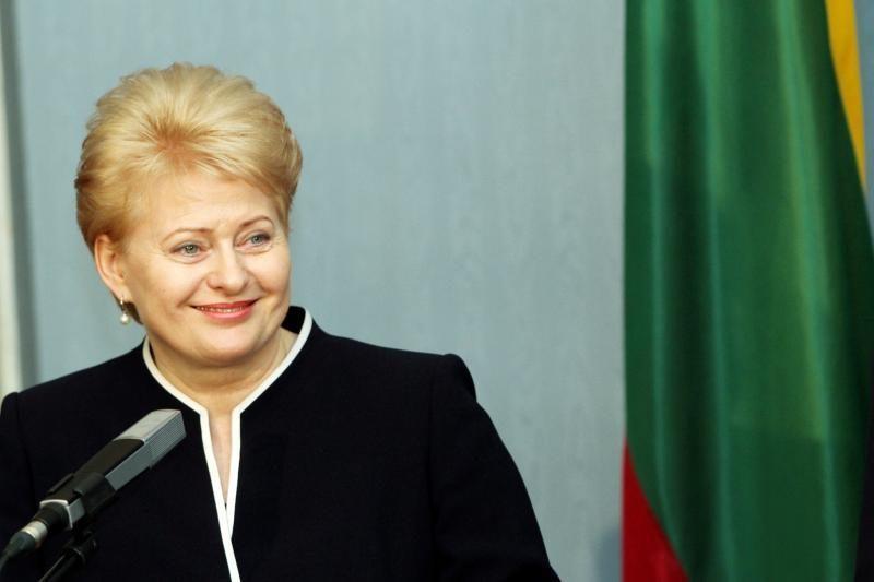Olimpinę ugnį Lietuvos atletai gaus iš D.Grybauskaitės