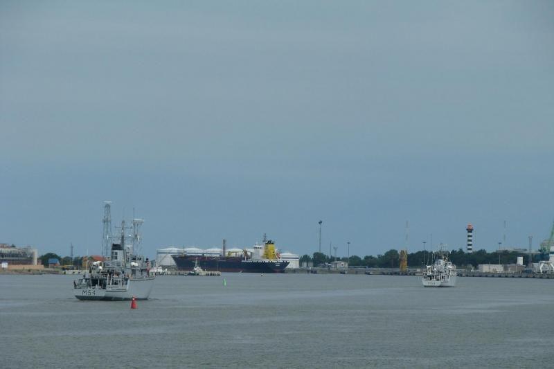 Baltijos jūroje –  penki Lietuvos karo laivai