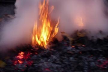 Vilniuje sudegė du žmonės