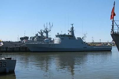 Klaipėdoje prisišvartavo naujasis Lietuvos patrulinis laivas