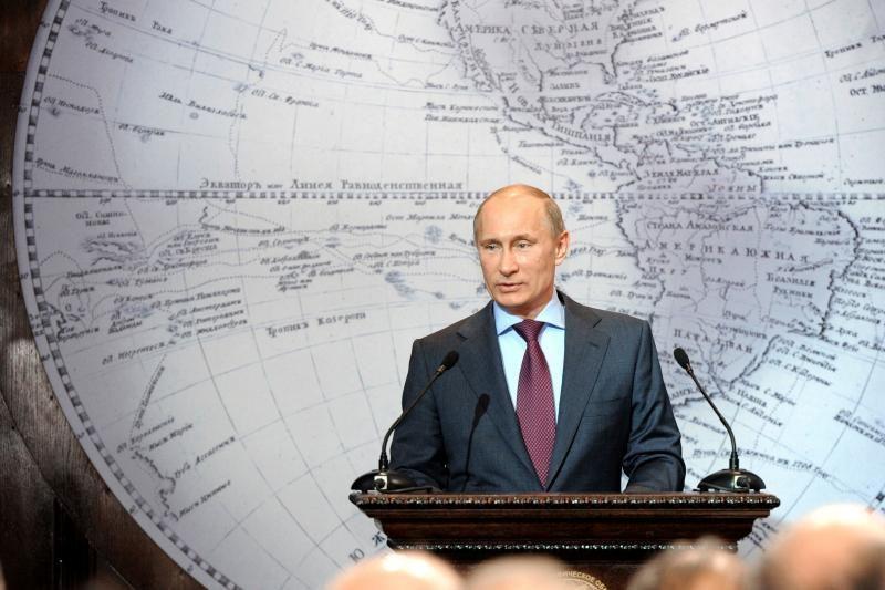 V.Putinas paskelbė, kad Rusija įveikė ekonominę krizę