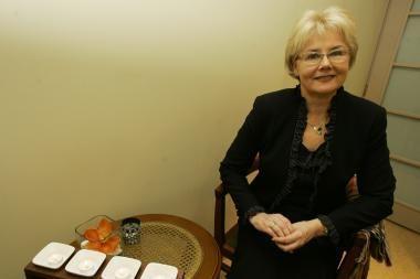 Šeimos ir verslo problemų išvarginta S.Repčenkienė nepraranda optimizmo