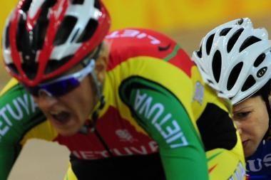 S.Krupeckaitė pirmauja Europos dviračių treko čempionate