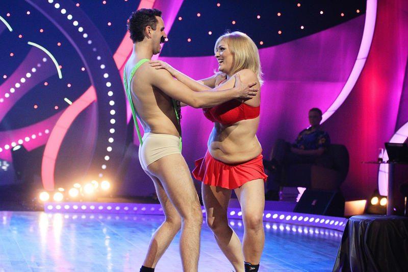 """""""Šok ir lieknėk"""" studijoje """"lankysis"""" Boratas ir Pamela Anderson"""