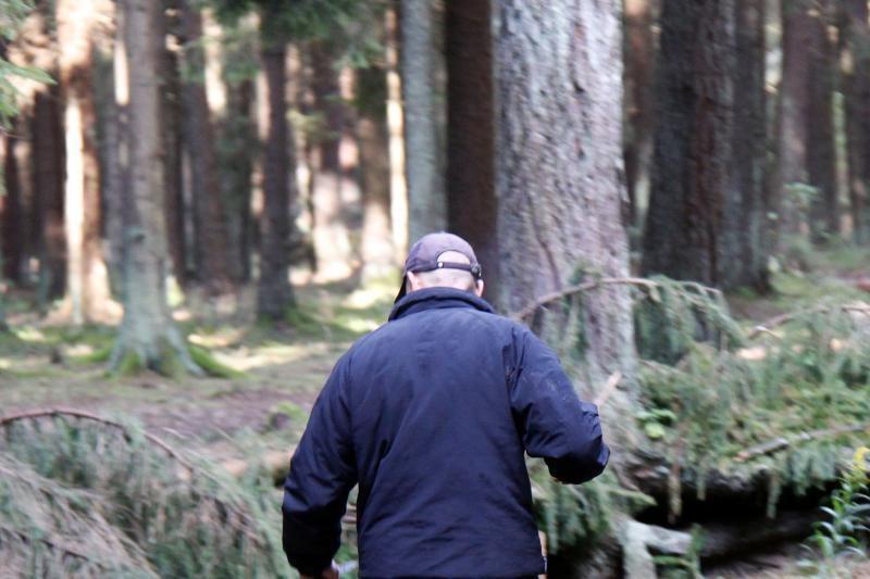 Po išgertuvių šiaulietis atsidūrė miške