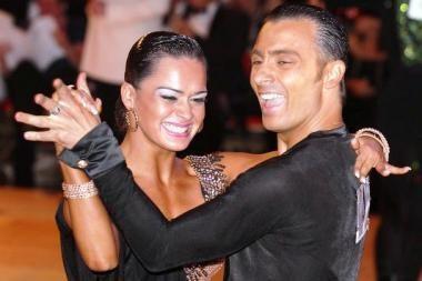 Lietuvei ir italui – britų sportinių šokių čempionato auksas