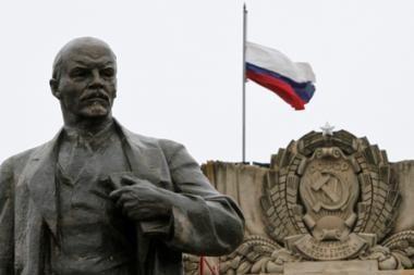Rusijos komunistai laiko paminklo V.Leninui susprogdinimą teroro aktu ir reikalauja keršto
