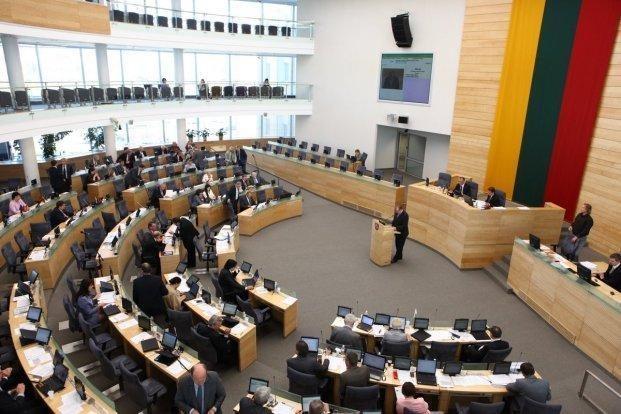 Per rudens sesiją Seimas priėmė 348 teisės aktus
