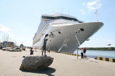 Stengsis į Klaipėdą pritraukti daugiau kruizinių laivų