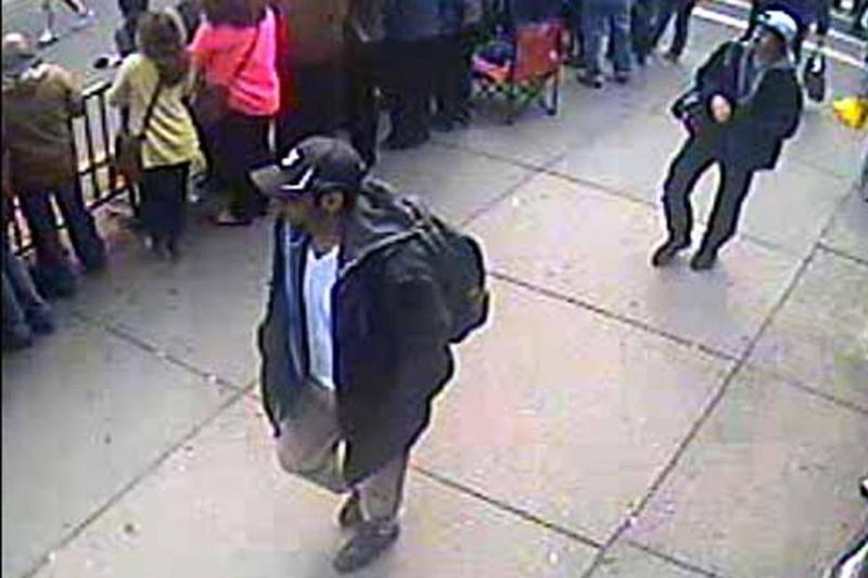 JAV sučiuptas vienas įtariamas Bostono maratono sprogdintojas (foto)