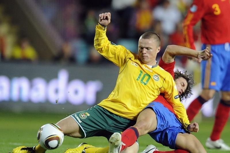 Lietuvos futbolo rinktinė FIFA reitinge šoktelėjo į viršų