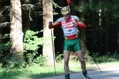 Europos biatlono taurės varžybose Tomas Kaukėnas penktadienį finišavo 61-as