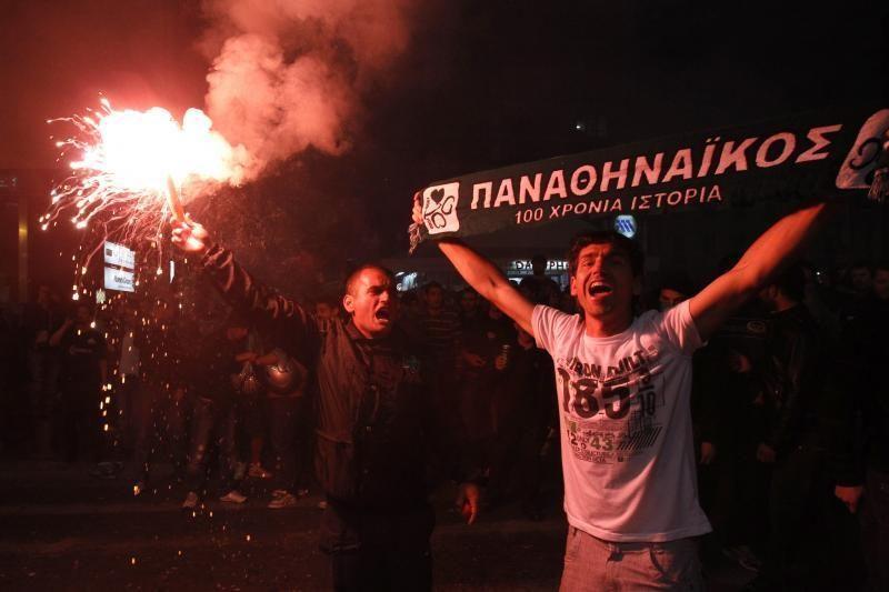 """""""Panathinaikos"""" skirta 88 tūkst. eurų bauda"""